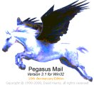 David Harris, Logo of Pegasus Mail