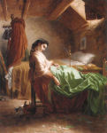 La ricamatrice addormentata (The Sleeping Seamstress)